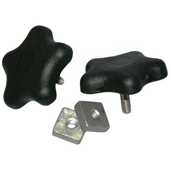 Black Arm Knobs, set of 2 (for A&E and Dometic)