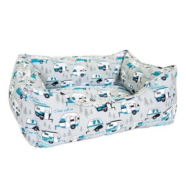 Let's Be Adventurous Pet Bed