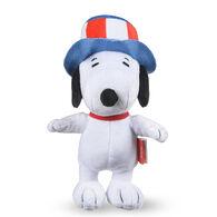Patriotic Snoopy Plush Squeaky Dog Toy