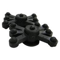 Bowjax MonsterJax Solid Limb Dampeners, Black, 2-Pack