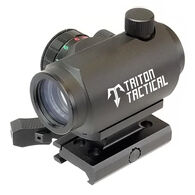 Triton Tactical Dot Sight 1x20mm Dual Illuminated Micro Dot w/ Quick Detach Lower 1/3 Co-Witness Riser