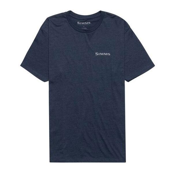 Simms Men's Logo Bass Short-Sleeve T-Shirt