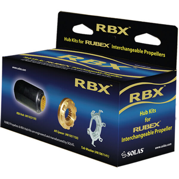 Solas Rubex RBX-126 Prop Interchangeable Hub Kit For Evinrude/Johnson 140 HP