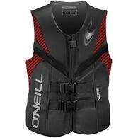 O'Neill Men's Reactor Life Jacket - Gray/Red/Black - XL