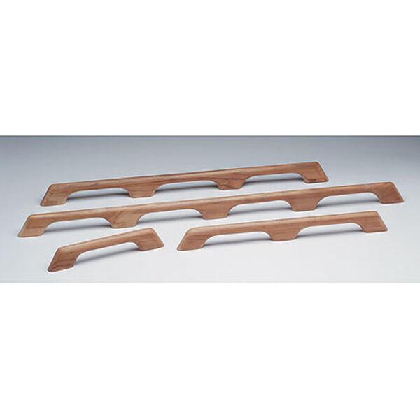 "Whitecap Teak Teak Six-Loop Handrail, 63""L x 2-3/8""H x 1""D"