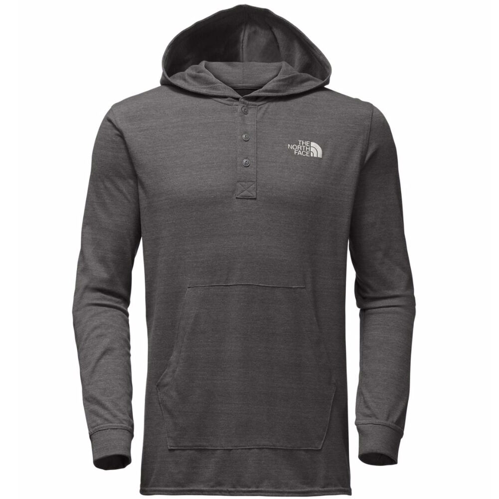 5a2bac032 The North Face Men's Henley Tri-Blend Hoodie