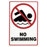 """No Swimming"" Sign"