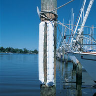 "Dock Bumper (Medium 4-1/2""W x 1-3/4""D) White 3'"
