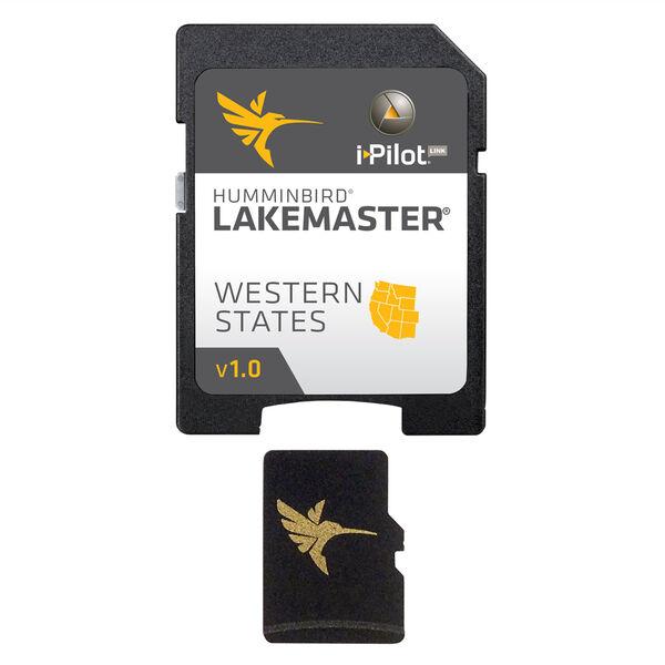 Humminbird LakeMaster Chart MicroSD/SD Card, Western States, Version 1