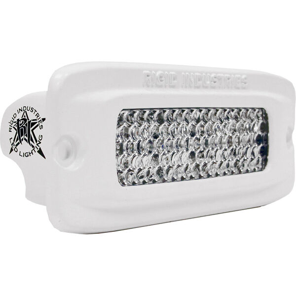 Rigid Industries MSR-QF Flush-Mount LED Light, Diffused