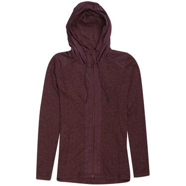 Ultimate Terrain Women's Wool Hybrid Full-Zip Hoodie
