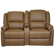 """Allure Furniture 58"""" Theater Seating with Entertainment Console"""