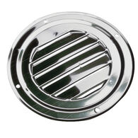 "Sea-Dog Stainless Steel Round Louvered Vent, 5"" dia."