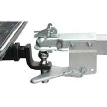 """Tie-Down 3"""" x 4"""" Ball Coupler And Hitch"""