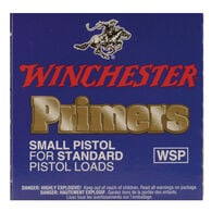 Winchester Small Regular Pistol Primers, 100-Count
