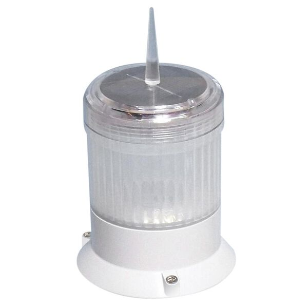 Dock Edge Solar Piling Cap Light