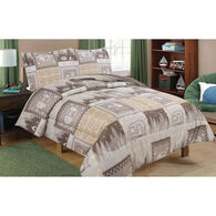 "RV Comforter and Sham 3-Piece Set, Queen/Short Queen, 86"" x 86"""