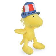 Patriotic Woodstock Plush Squeaky Dog Toy