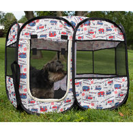 Happy Camping Portable, Soft-Sided Pet Playpen