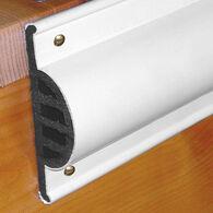Commercial Grade Double Molded Dock Edging White Side Gard 10' Coil