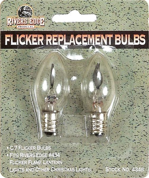 Flicker Replacement Bulbs, 2pk