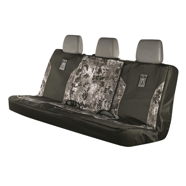 Kryptek Patriot Warrior Full-Size Bench Seat Cover, Raid Camo