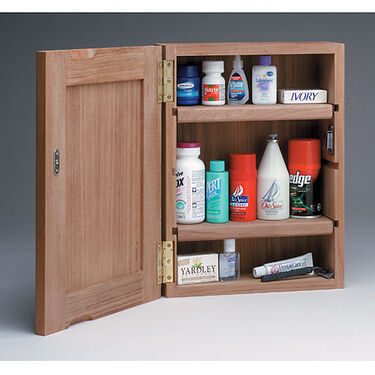 Whitecap Teak Teak Medicine Chest w/Mirror