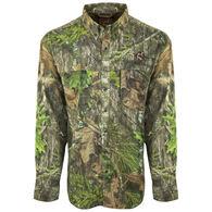 Ol' Tom Men's Mesh-Back Flyweight Shirt with Spine Pad