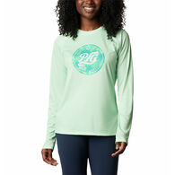 Columbia Women's PFG Tidal Printed Medallion Long-Sleeve T-Shirt