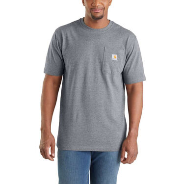 "Carhartt Men's Workwear ""C"" Logo Graphic Short-Sleeve Pocket Tee"