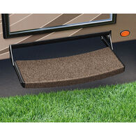 Prest-o-Fit Trailhead Universal RV Step Rugs, Buckskin Brown, 3-pack