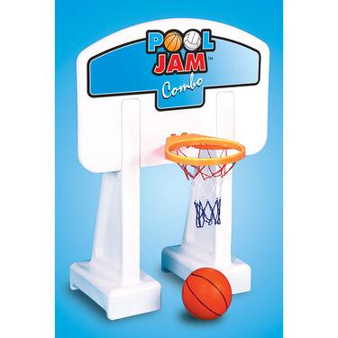 Swimline PoolJam Basketball/Volleyball Combo, Inground Pools