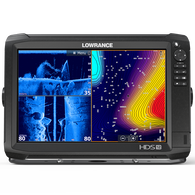 Lowrance HDS-12 Carbon Fishfinder Chartplotter w/StructureScan 3D Transducer