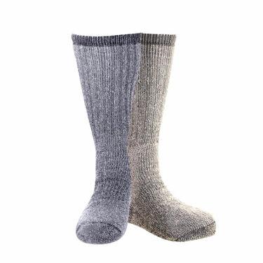 Woolrich Men's Ultimate Merino Wool Socks, 2-Pack