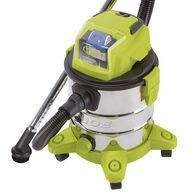 Sun Joe 24V-WDV6000 24-Volt iON+ Cordless Portable Stainless Steel Wet/Dry Vacuum Kit