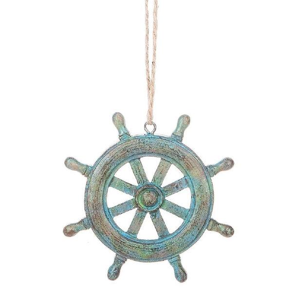 Ships Wheel Ornament