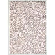 Orian Alice Springs Natural Indoor/Outdoor Rug, Honeycomb 5' x 8'