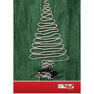 Christmas Tree Rope Christmas Cards