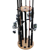 Rush Creek Creations Round 10 Fishing Rod Rack