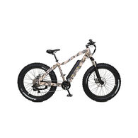 "QuietKat Ranger 750-watt Electric Mountain Bike 17"", Camo"