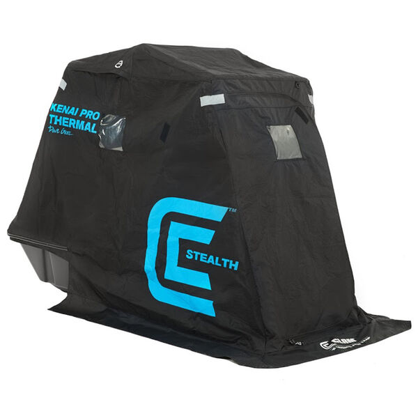 Clam Kenai Pro Thermal Stealth Fish Trap Ice Shelter