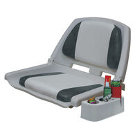 Wise Folding Boat Seat With Caddy, Padded