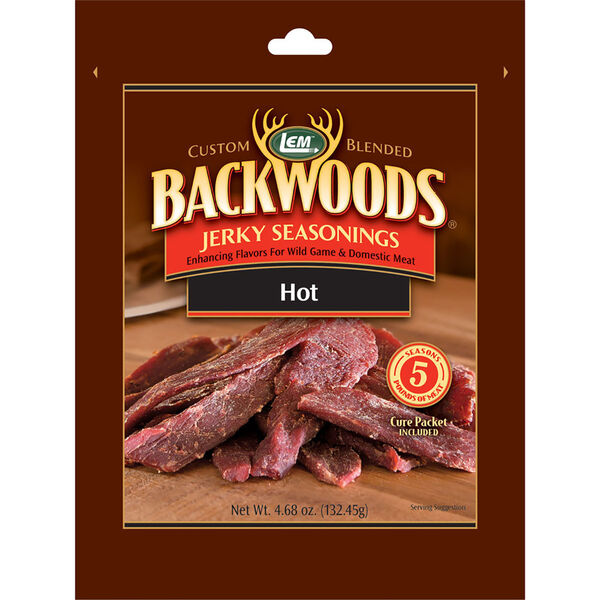 LEM Backwoods Hot Jerky Seasoning, 5 lbs.