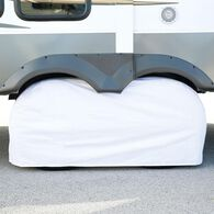 """Elements White Double Tire Cover, 27""""-29"""""""