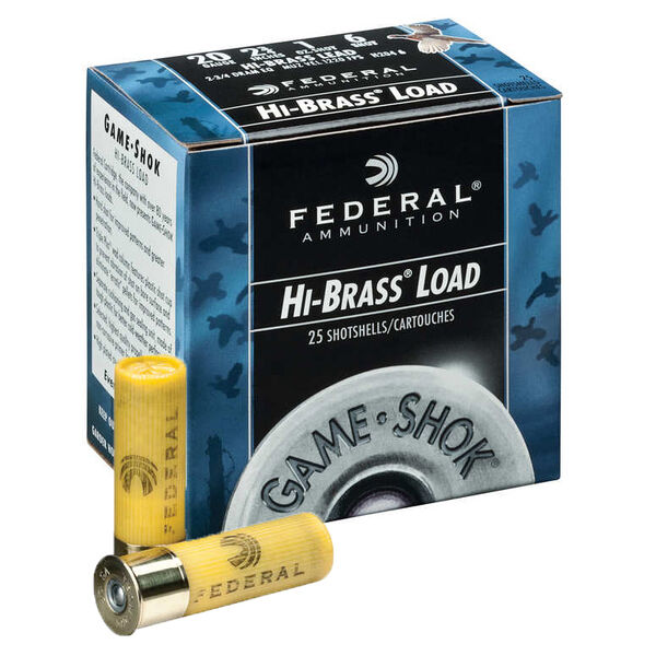 "Federal Premium Game-Shok Hi-Brass Loads, .410 bore, 3"", 11/16 oz, #4"