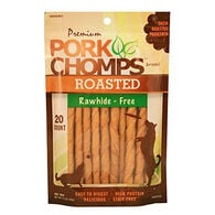 Scott Pet Premium Pork Chomps Mini Twists, Roasted, 20-Pack