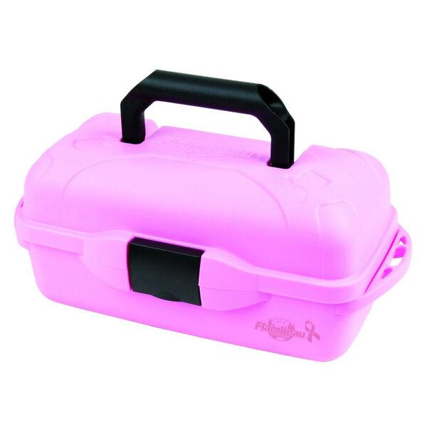 Flambeau Pink Ribbon 1-Tray Tackle Box