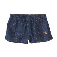 Carhartt Infant Girls' Dobby Short