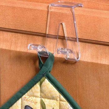 Over-the-Door Hook Clear