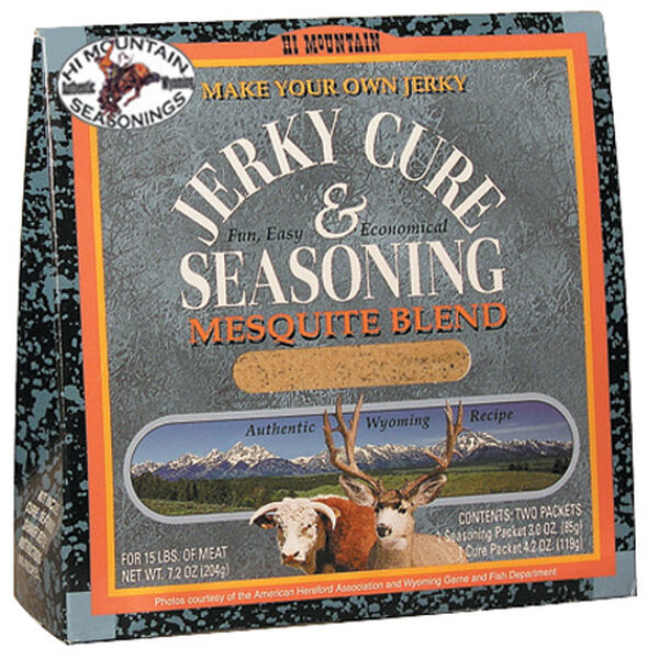 Hi Mountain Seasonings Jerky Cure & Seasoning Kit, Mesquite